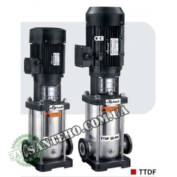 Центробежный насос Sprut TTDF 40-72