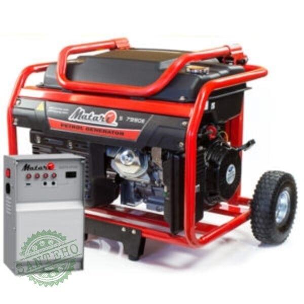 Бензиновый генератор Matari S 7990E ATS (автозапуск)