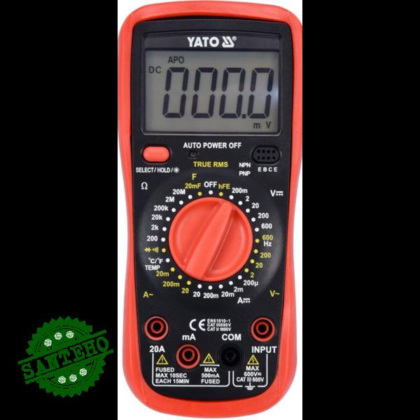 Цифровой мультиметр YATO YT-73083