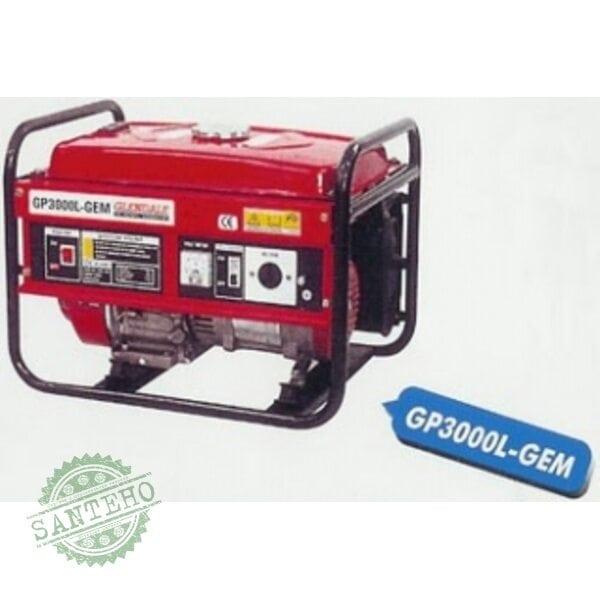 Мобильный бензогенератор Glendale GP3000L-GEM