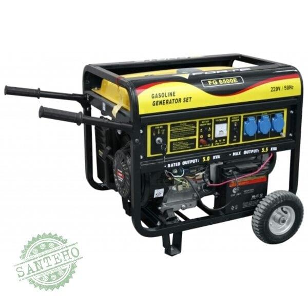 Генератор бензиновый Forte FG6500E, купить Генератор бензиновый Forte FG6500E
