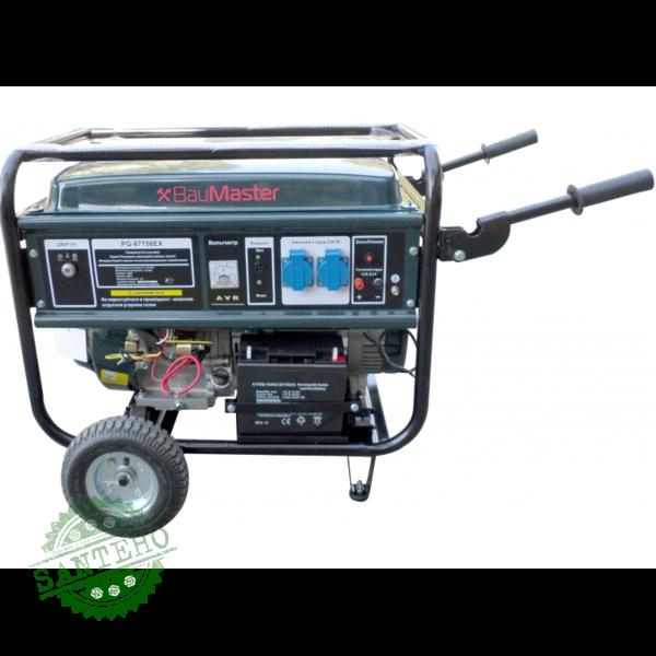 Генератор бензиновый BauMaster PG-87156EX