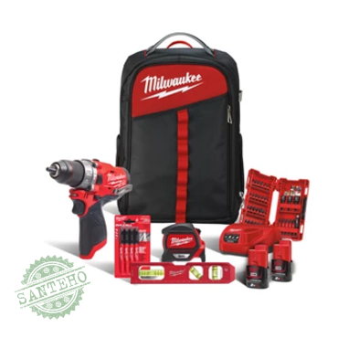 Набор инструментов MILWAUKEE M12 FPD-202BA