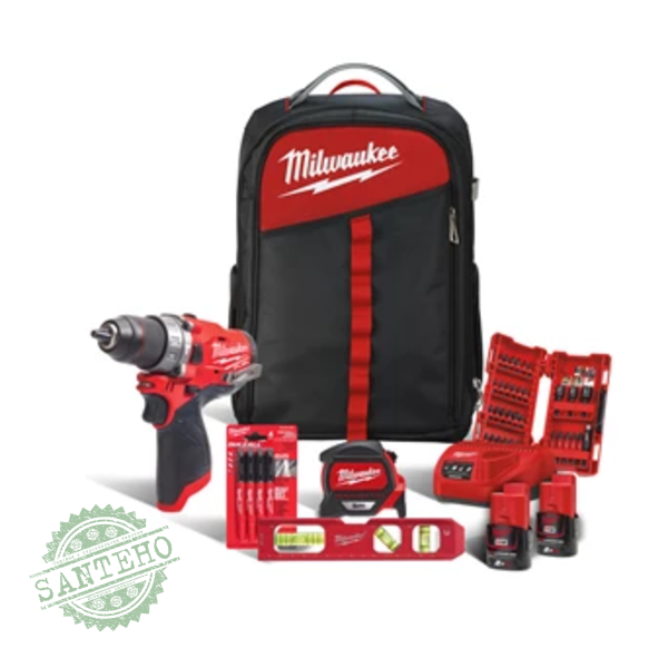 Набір інструментів MILWAUKEE M12 FPD-202BA