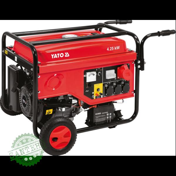Генератор трехфазный бензиновый Yato YT-85460, купить Генератор трехфазный бензиновый Yato YT-85460