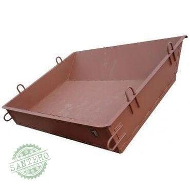 Ящик строительный для раствора-бетона 0,25
