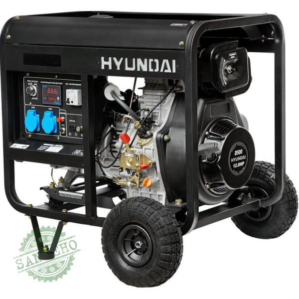 Дизельный генератор Hyundai DHY 5000L, купить Дизельный генератор Hyundai DHY 5000L