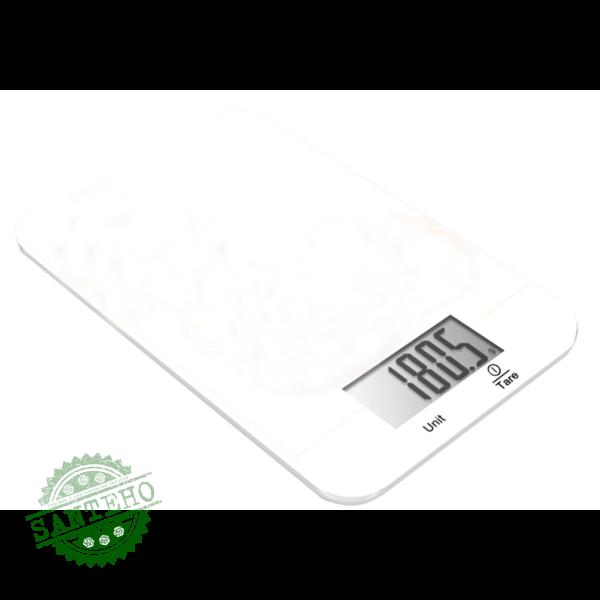 Кухонные весы GRUNHELM KES-1RW (белый)