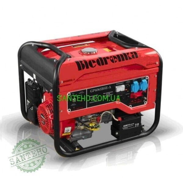 Бензиновый генератор Biedronka GP6065BSE-A, купити Бензиновый генератор Biedronka GP6065BSE-A
