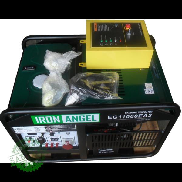 Генератор бензиновый IRON ANGEL EG 11000 EA3+ блок автоматики, купить Генератор бензиновый IRON ANGEL EG 11000 EA3+ блок автоматики
