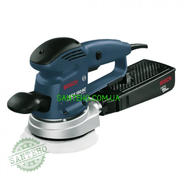 Шлифмашина эксцентриковая Bosch GEX 150 AC + микрофильтр