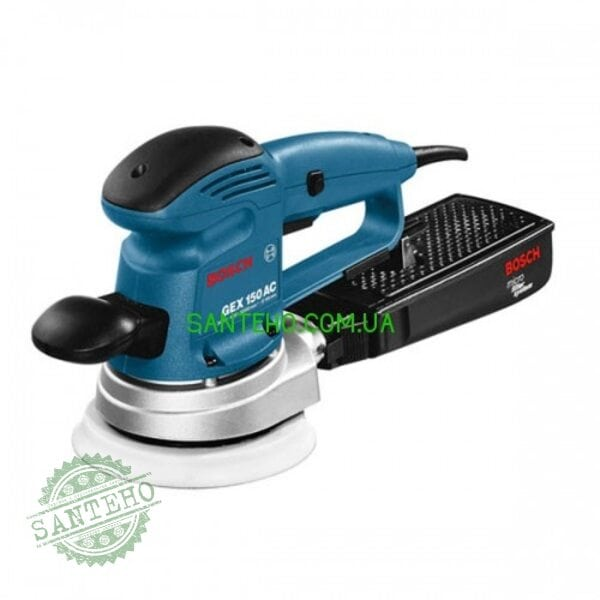 Шлифмашина эксцентриковая Bosch GEX 150 AC + 100