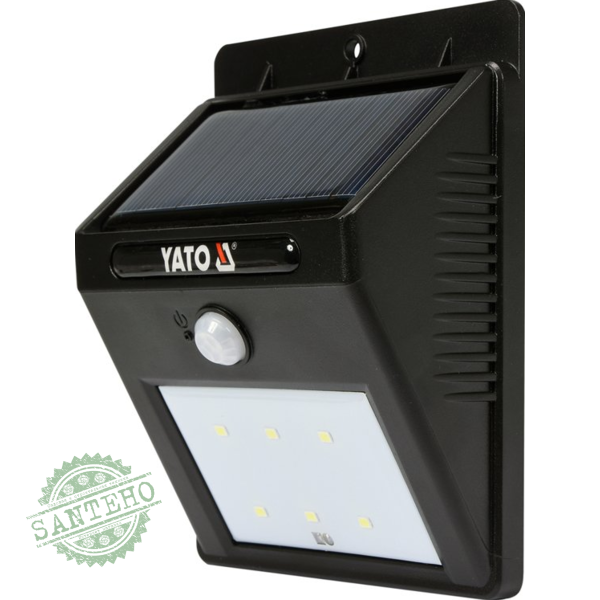 Вуличний прожектор на сонячних батареях YATO YT-81 856
