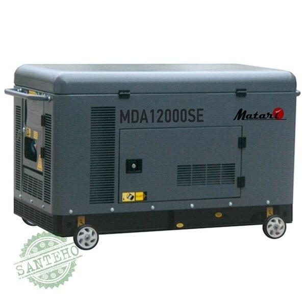Дизельний генератор MATARI MDA 12000SE3