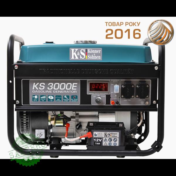 Бензиновый генератор Konner & Sohnen KS 3000E, купить Бензиновый генератор Konner & Sohnen KS 3000E