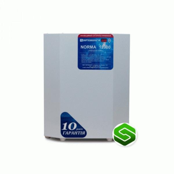 Стабилизатор напряжения Укртехнология Norma НСН-15000 HV, купить Стабилизатор напряжения Укртехнология Norma НСН-15000 HV