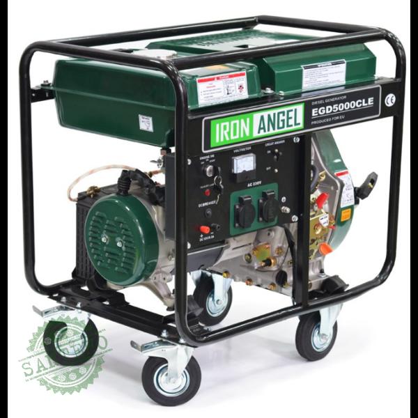 Дизельный генератор Iron Angel EGD 5000 CLE, купить Дизельный генератор Iron Angel EGD 5000 CLE