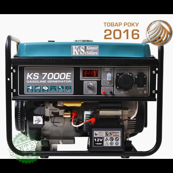 Бензиновый генератор Konner & Sohnen KS 7000E, купить Бензиновый генератор Konner & Sohnen KS 7000E