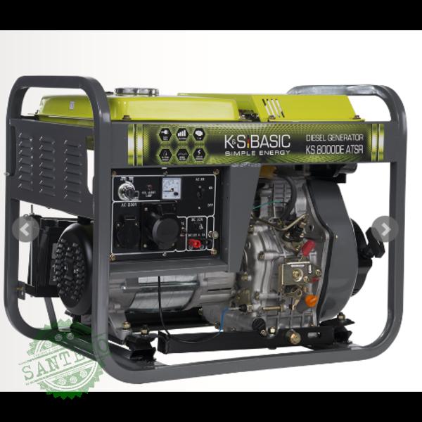 Дизельный генератор Konner & Sohnen KSB 8000DE ATSR, купить Дизельный генератор Konner & Sohnen KSB 8000DE ATSR
