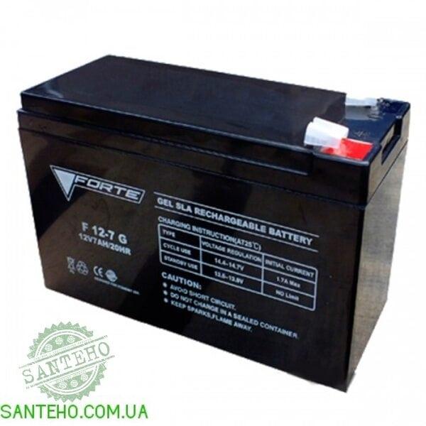 Аккумуляторная батарея FORTE F12-7G (тип AGM), купить Аккумуляторная батарея FORTE F12-7G (тип AGM)