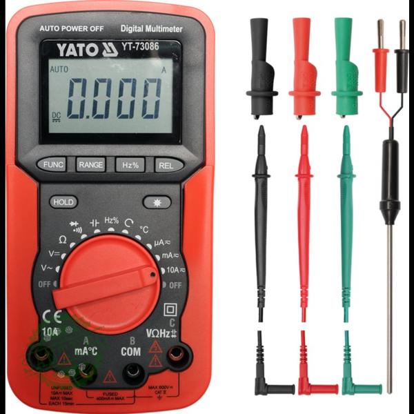 Цифровой мультиметр YATO YT-73086
