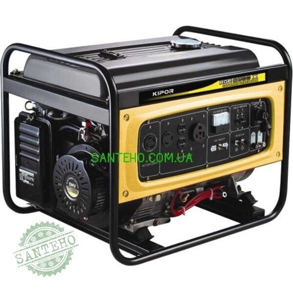 Бензиновый генератор KIPOR KGE6500E, купить Бензиновый генератор KIPOR KGE6500E