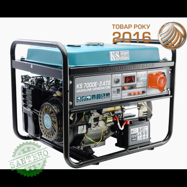 Бензиновый генератор Konner & Sohnen KS 7000E-3 ATS, купить Бензиновый генератор Konner & Sohnen KS 7000E-3 ATS