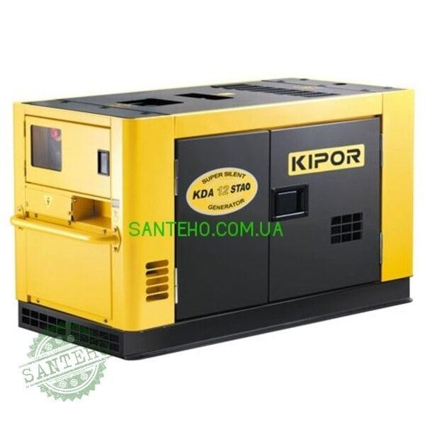 Дизельний генератор KIPOR KDA12STAO, купити Дизельний генератор KIPOR KDA12STAO