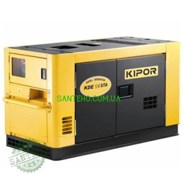 Дизельний генератор KIPOR KDA14STAO, купити Дизельний генератор KIPOR KDA14STAO