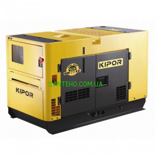 Дизельний генератор KIPOR KDE11SS, купити Дизельний генератор KIPOR KDE11SS