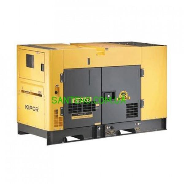Трехфазный дизельный генератор KIPOR KDA100STO3, купить Трехфазный дизельный генератор KIPOR KDA100STO3