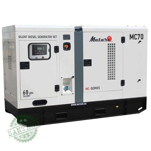 Дизельный генератор Matari MC70, купить Дизельный генератор Matari MC70