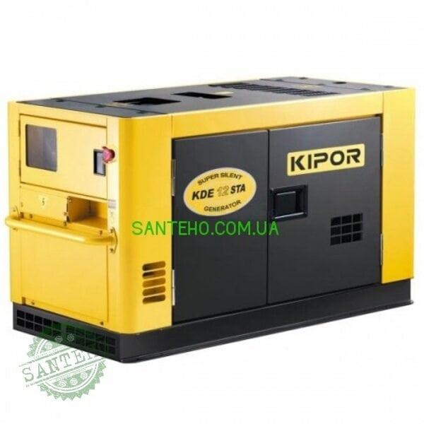Трифазний генератор KIPOR KDA12STAO3, купити Трифазний генератор KIPOR KDA12STAO3