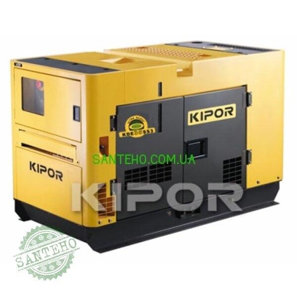 Дизельный генератор Kipor KDE35SSО3, купить Дизельный генератор Kipor KDE35SSО3
