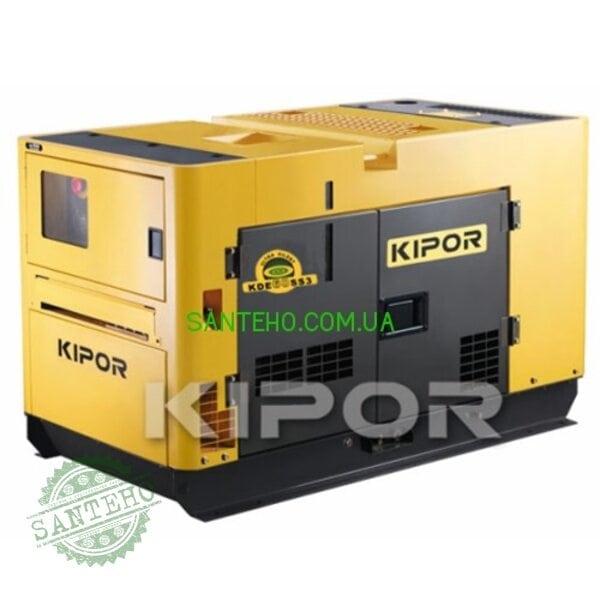 Дизельный генератор Kipor KDE60SSО3, купить Дизельный генератор Kipor KDE60SSО3