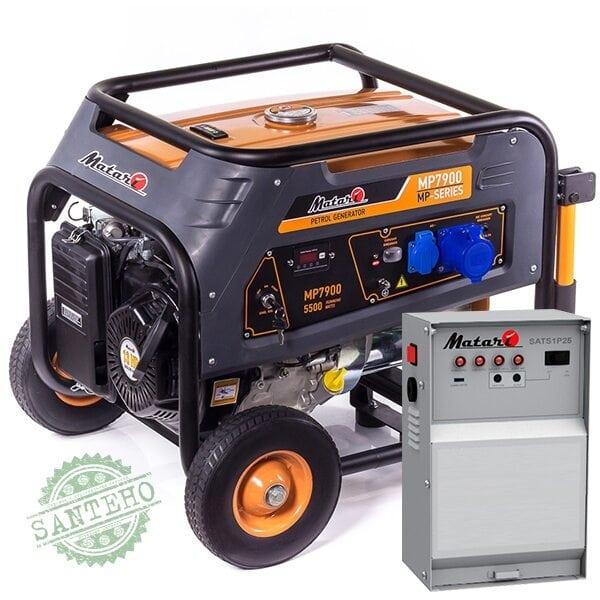 Бензиновый генератор Matari MP 8900 ATS (автозапуск), купить Бензиновый генератор Matari MP 8900 ATS (автозапуск)
