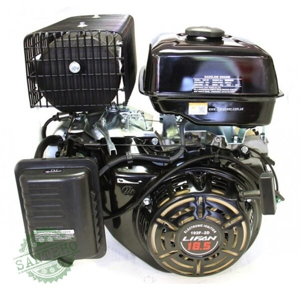 Бензиновый двигатель LIFAN LF192F-2D с электростартером