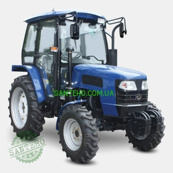 Трактор ДТЗ 5404К (4 цил-ра, 4х4, 8+8, 7,50-16/11,2-28, кабина с отоплением, 2 насоса гидравлики)