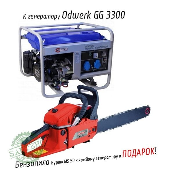 Генератор бензиновый Odwerk GG 3300