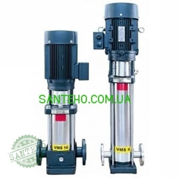 Вертикальний багатоступінчастий насос Aquario VMS 4-120
