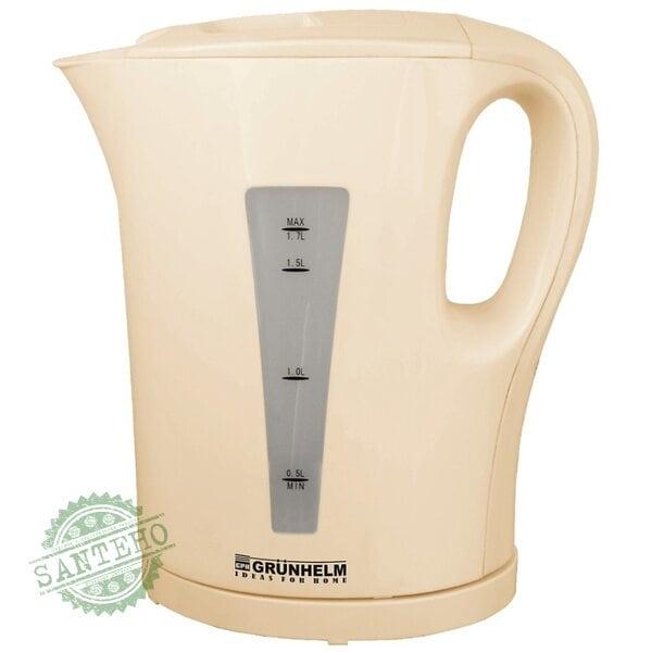 Электрический чайник GRUNHELM EKP-2217I  ( бежевый )