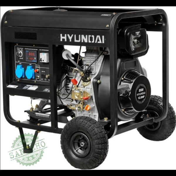 Дизельный генератор Hyundai DHY 6500L, купить Дизельный генератор Hyundai DHY 6500L