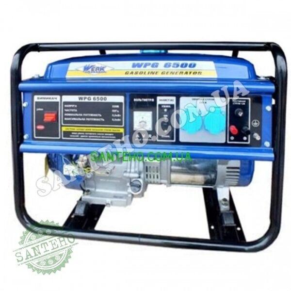 Генератор бензиновый WERK WPG6500