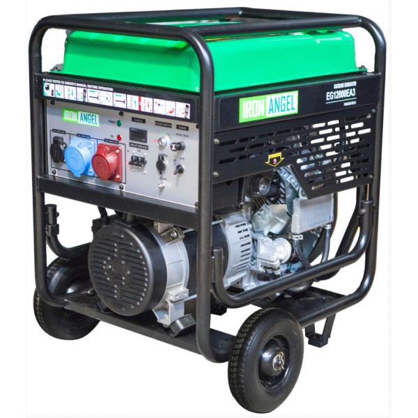 Генератор бензиновий IRON ANGEL EG12000E, купити Генератор бензиновий IRON ANGEL EG12000E