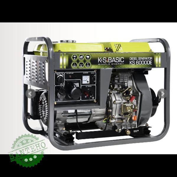 Дизельный генератор Konner & Sohnen KS 6000DE, купить Дизельный генератор Konner & Sohnen KS 6000DE