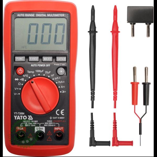 Цифровой мультиметр YATO YT-73084