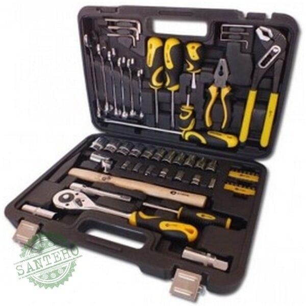 Профессиональный набор инструментов СТАЛЬ 59 единиц AT-5912
