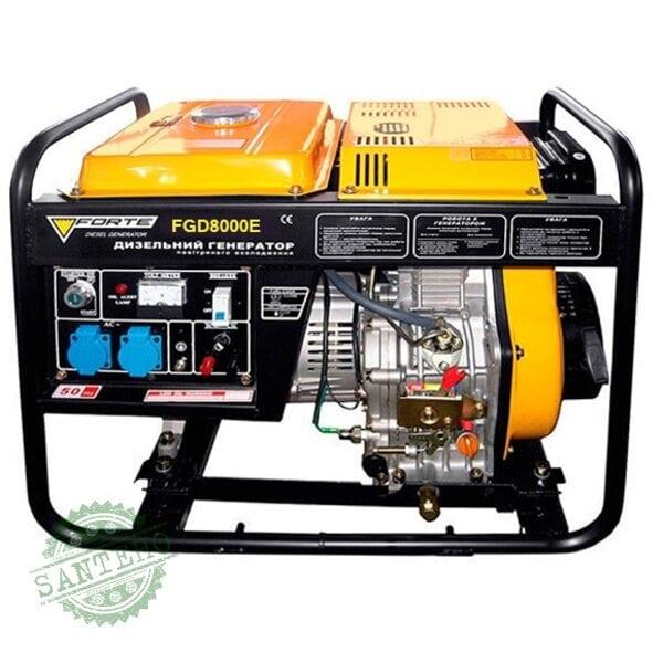 Дизельный генератор Forte FGD 8000E
