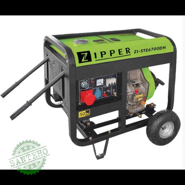 Дизельний генератор ZIPPER ZI-STE6700DH, купити Дизельний генератор ZIPPER ZI-STE6700DH