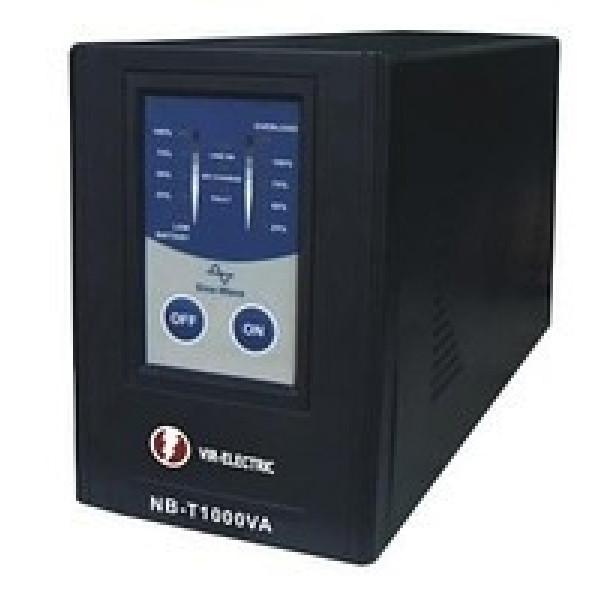 Источник бесперебойного питания с подключением внешних аккумуляторных батарей NB-T1000VA